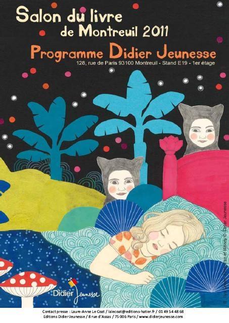 Salon du livre et de la presse jeunesse de montreuil 2011 du 30 novembre au 5 d cembre les - Salon du livre jeunesse de montreuil ...
