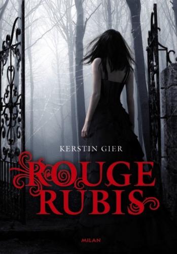 rouge rubis, Kerstin Gier, milan jeunesse, sandales d'empédocle