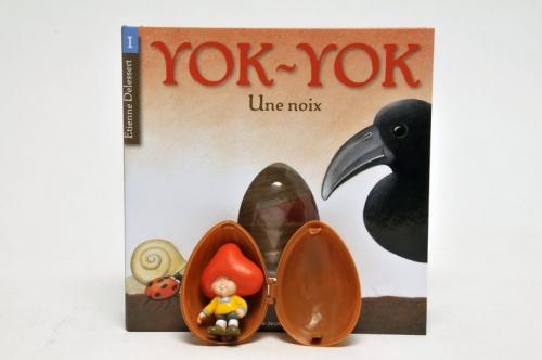 Yok Yok, Etienne Delessert, gallimard jeunesse, sandales d'empédocle jeunesse, claire bretin