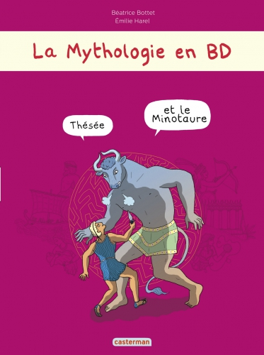 La mythologie en BD - Thésée et le Minotaure.jpg
