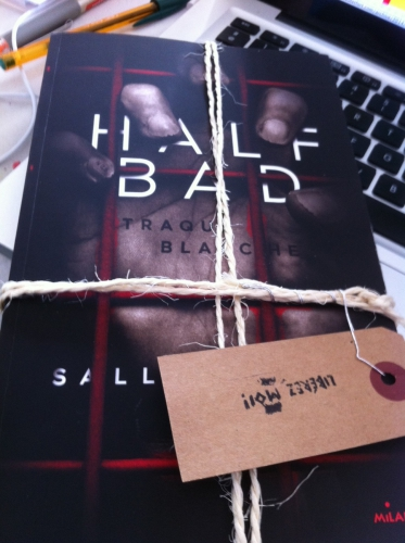 Half bad - Tome 1 : Traque blanche Sally Green Traduit de l'anglais Marie Cambolieu Editions Milan Jeunesse