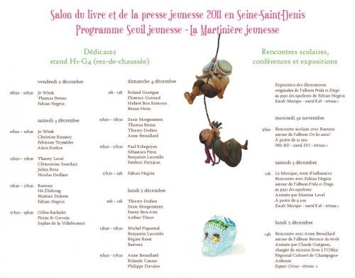 Salon du livre et de la presse jeunesse de montreuil 2011 - Salon du livre et de la presse jeunesse ...