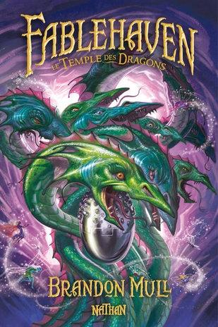 Fablehaven Tome 4 Le Temple des Dragons , Brandon Mull, Nathan éditions , sandales d'empédocle jeunesse, claire bretin