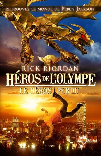 héros de l'olympe tome 1 le héros perdu rick riordan traduit de ,collection wiz,sandales d'empédocle,besançon